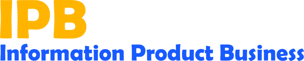 Information Product Business